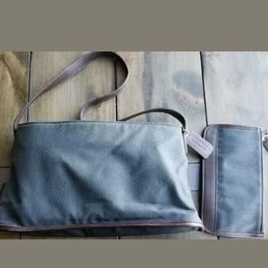 Vintage Coach Shoulder Bag & wallet